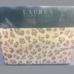 New Ralph Lauren Full size sheet set Bohemian